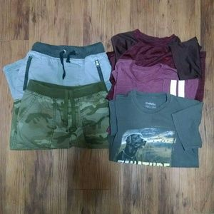 Boys Bundle Shorts & T-shirts